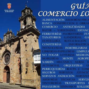 El Ayuntamiento de Mondoñedo y la Asociación de Comerciantes sacan a la calle una Guia del Comercio Local