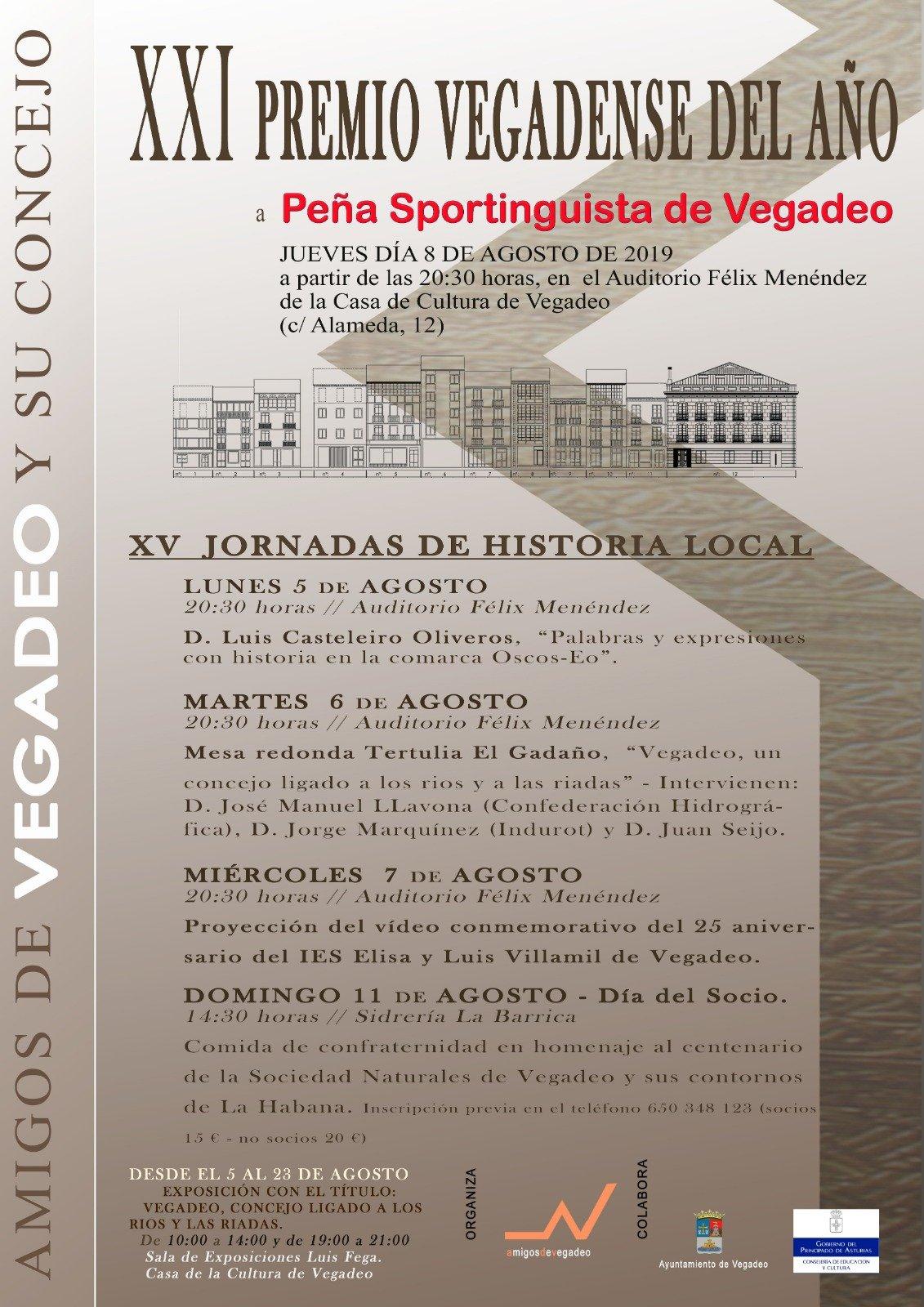 Actividades promovidas por la Asociación Amigos de Vegadeo y su concejo