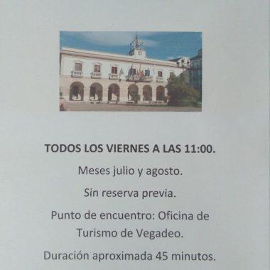 La Oficina de Turismo de Vegadeo ofrece visitas guiadas