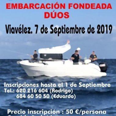 Últimos Días de Inscripción para el III Open de Pesca a Dúos desde Embarcación Fondeada de Viavélez (El Franco)