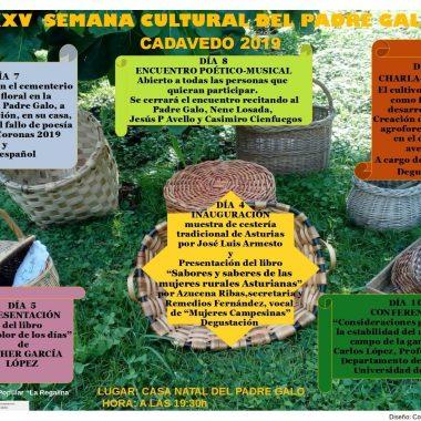 XXV Semana Cultural del Padre Galo en Cadavedo (Valdés)