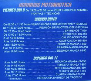 Copa del Mundo de Motonáutica los días 9, 10 y 11 de Agosto en la Ría de Navia