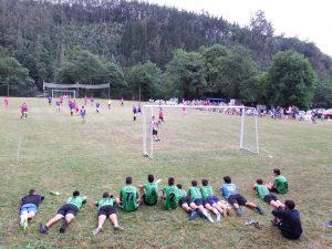 A Caridá, Campeón de la II Copa de los Pueblos del Franco de Fútbol