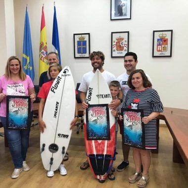 Campeonato Tapiego de Surf Verano 2019 el sábado en la Playa de Tapia