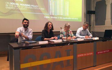 El gobierno asturiano sigue apostando por la vivienda de promoción pública para jóvenes y por la rehabilitación