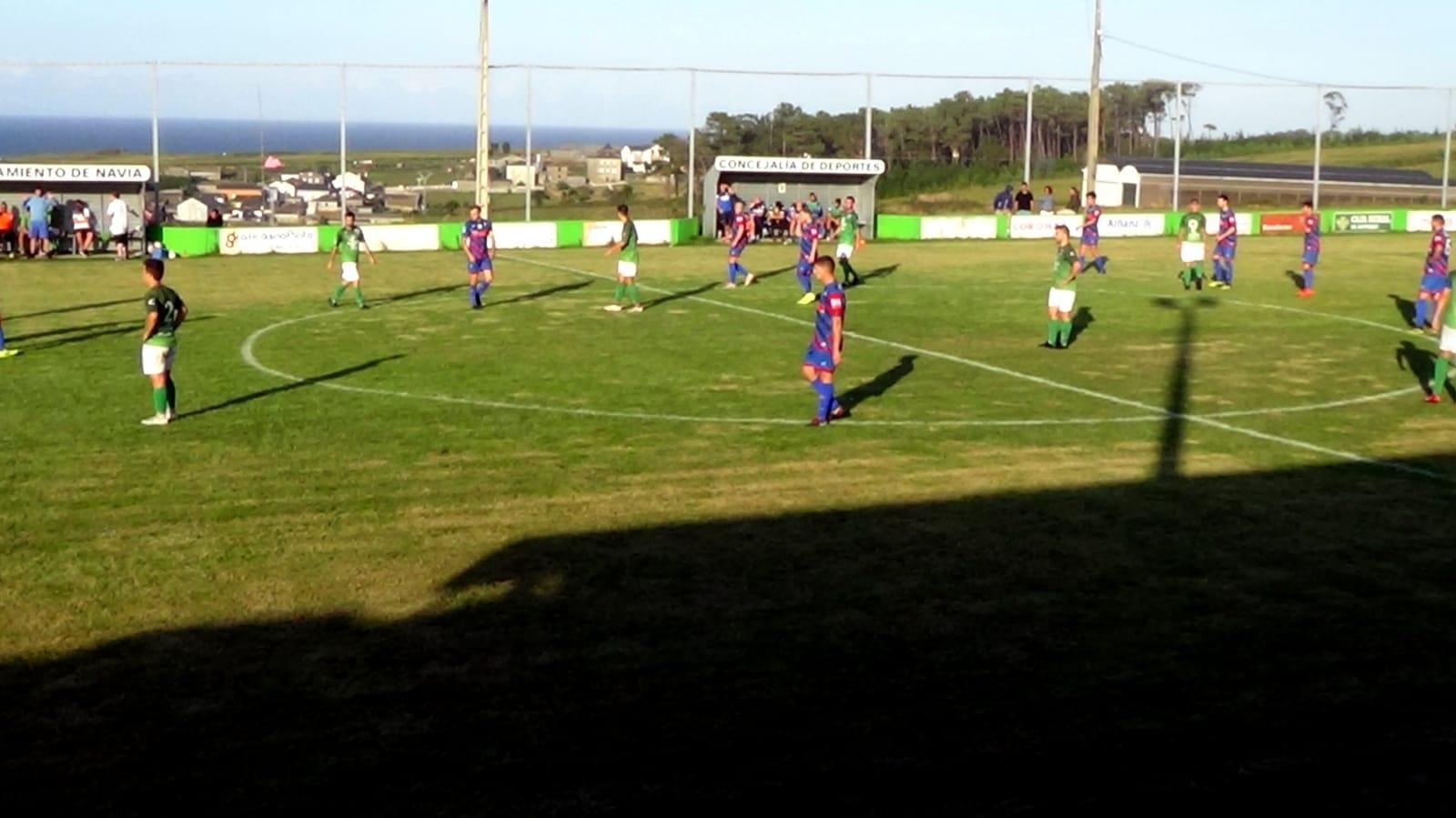 El Puerto de Vega ya es tercero tras vencer al Andés por 3-2