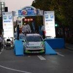 Diego Acevedo y Juan Manuel Rodríguez (Escuderia Boal Competición), Ganadores del Desafio Eco Modular en el Rallye Princesa de Asturias