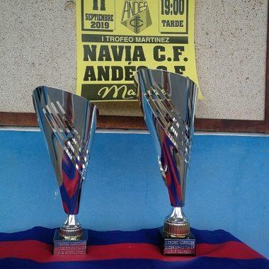 El Andés se impuso al Navia (2-0) en el amistoso disputado esta tarde en San Pedro