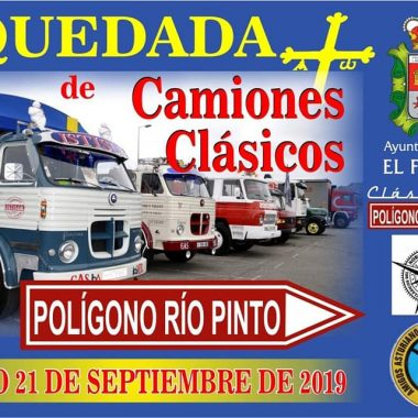 V Quedada de Camiones Clásicos Poligono Rio Pinto (Coaña).