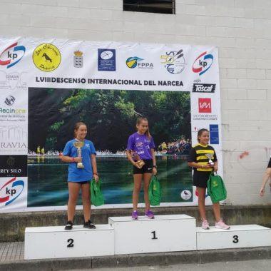 Paula Fernández (Club Albiones), Plata Alevín en el IX Trofeo Promoción de Pravia