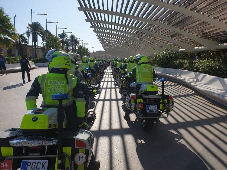 La Guardia Civil de Asturias movilizará 113 agentes y 70 vehículos de las especialidades de Seguridad Ciudadana, Sector/Subsector de Tráfico, y Usecic.