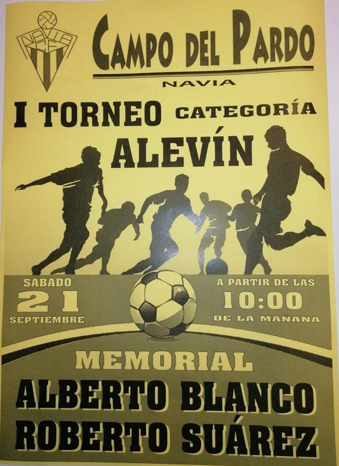 I Memorial Alberto y Roberto de Fútbol Alevín organizado por el Navia CF el sábado en el Pardo