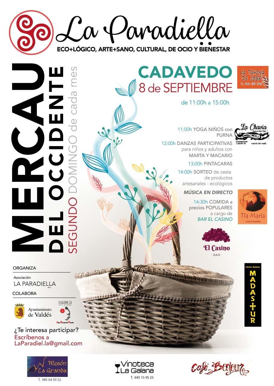 Mercado Artesano, Ecológico y de Segunda Mano en Cadavedo (Valdés)