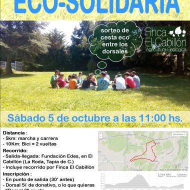 Todo preparado para la VII Marcha/I Carrera Eco Solidaria de Fundación EDES