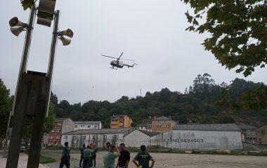Exhibición de especialidades de la Guardia Civil en Vegadeo, el 19 de septiembre