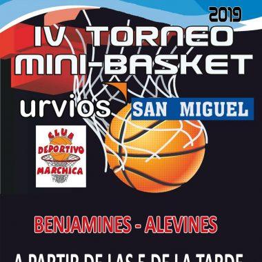 IV Torneo de Baloncesto de Minis este viernes en Trevías