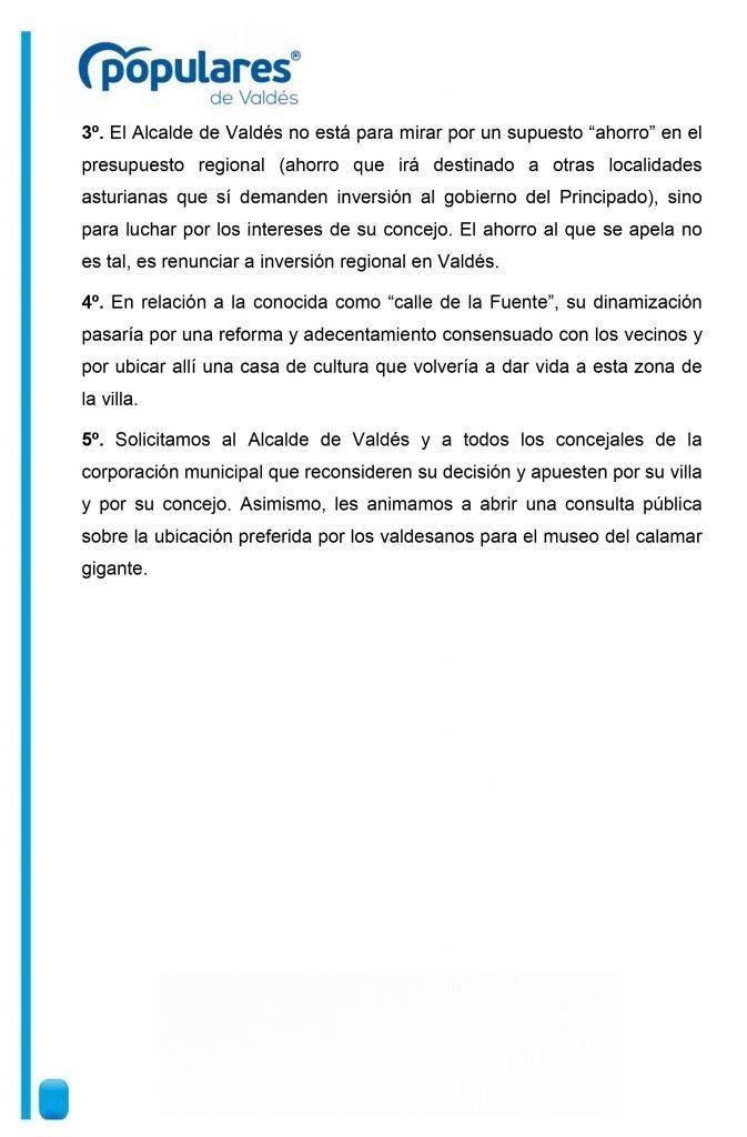 """El PP de Valdés califica de """"error garrafal"""" la ubicación del Museo del Calamar Gigante en el Cine Goya de Luarca"""