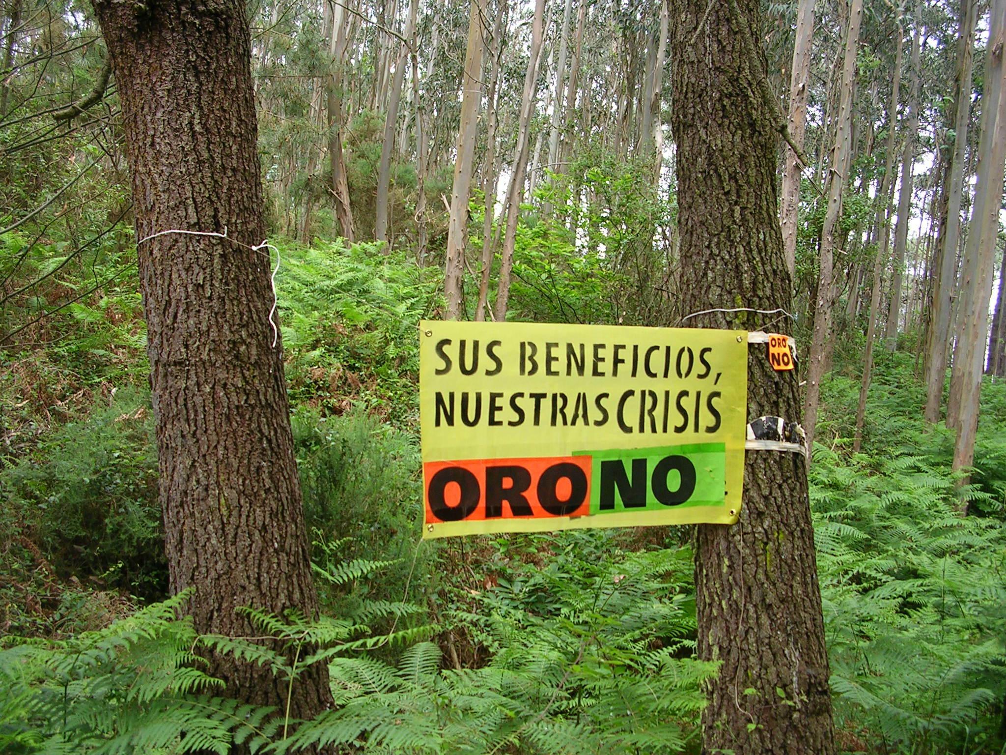 Coordinadora Ecoloxista y ORO NO rechazan nuevamente el proyecto presentando por EMC para la mina de oro de Salave (Tapia de Casariego)