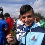 Lucas Fdez.(Club Natación Villa de Navia), Campeón Infantil de la V Copa de España de Aguas Abiertas tras la última prueba celebrada en Cáceres