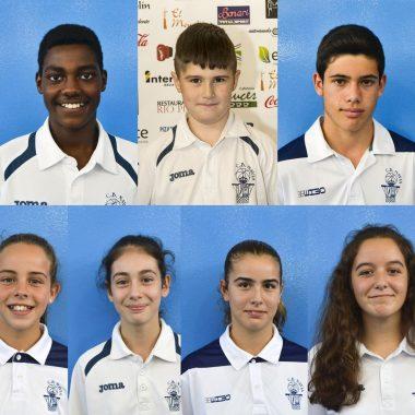 Once Jugadores del CB Navia se encuentran realizando la Pretemporada con las Selecciones de Asturias