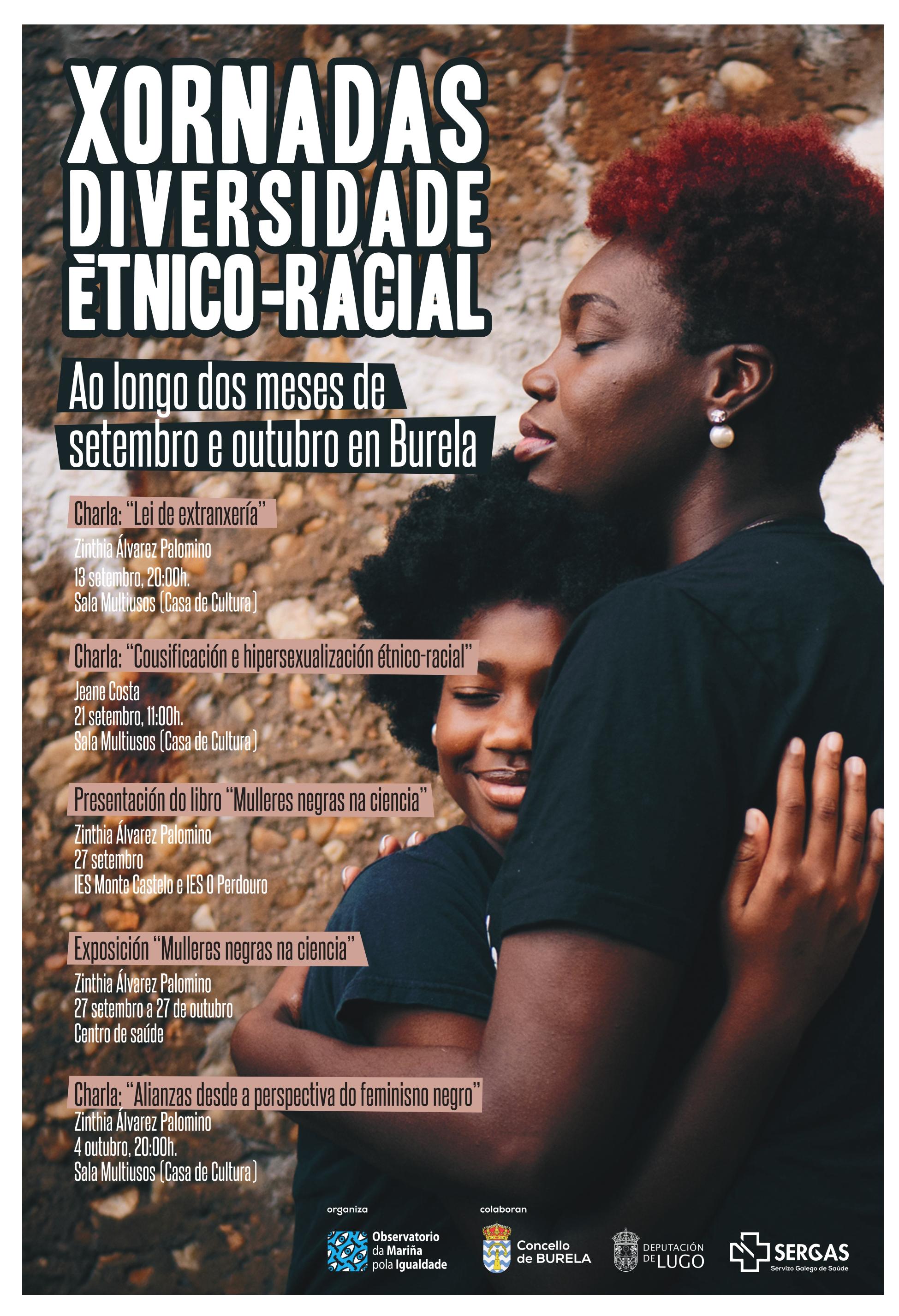 El Observatorio da Mariña por la Igualdad promueve las Jornadas de Diversidad Étnico-Racial en Burela