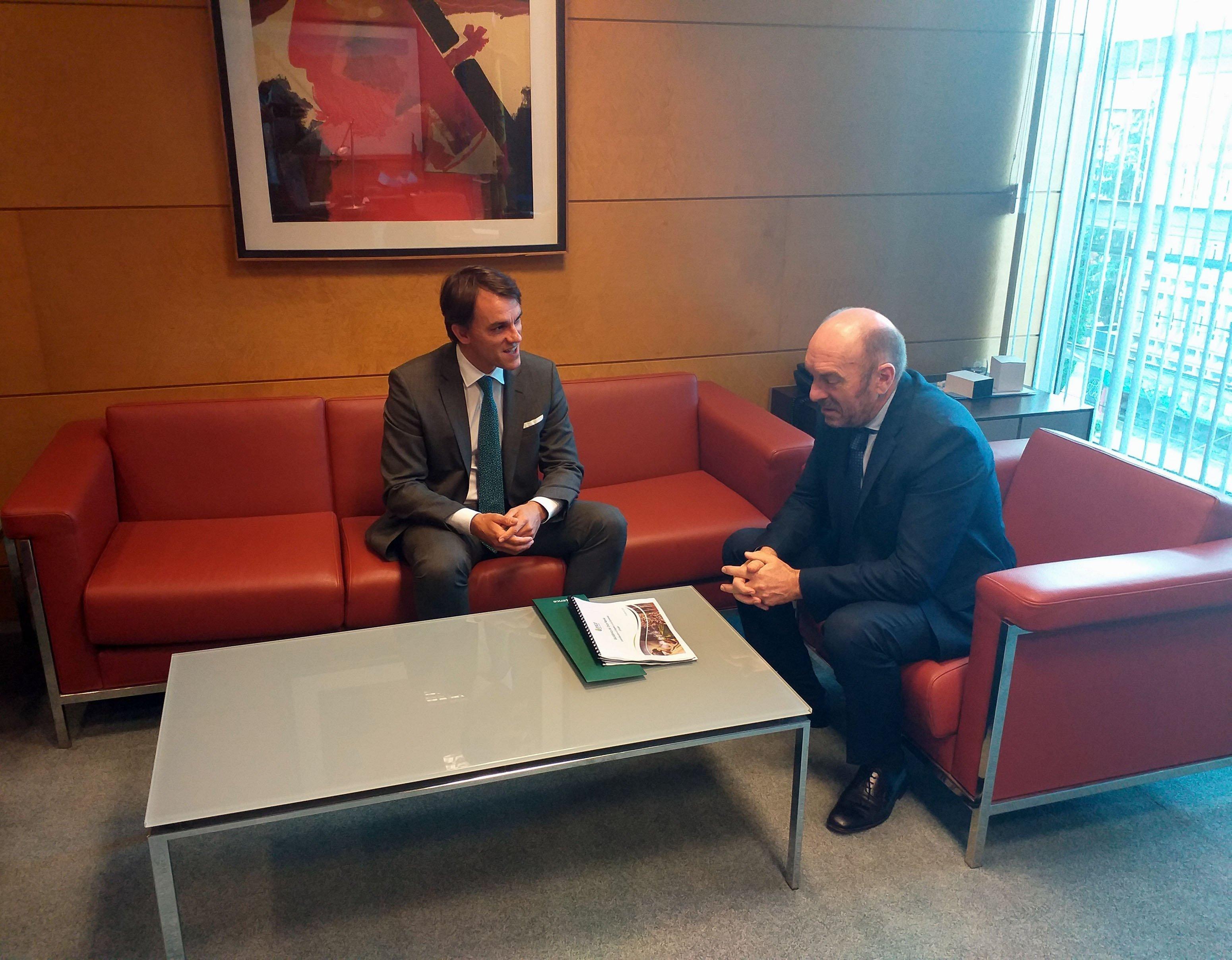 """Jordi Aguiló (director general ENCE): """"el monte es una fuente de riqueza muy importante para Asturias"""""""