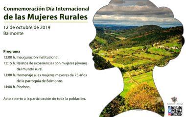Castropol conmemora el Día Internacional de las Mujeres Rurales el Sábado día 12 en Balmonte