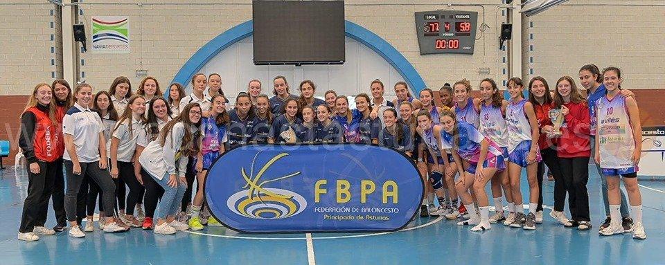 El CB Navia Cadete Femenino consigue el Bronce en la Final a Cuatro de la Copa Asturias disputada en Navia