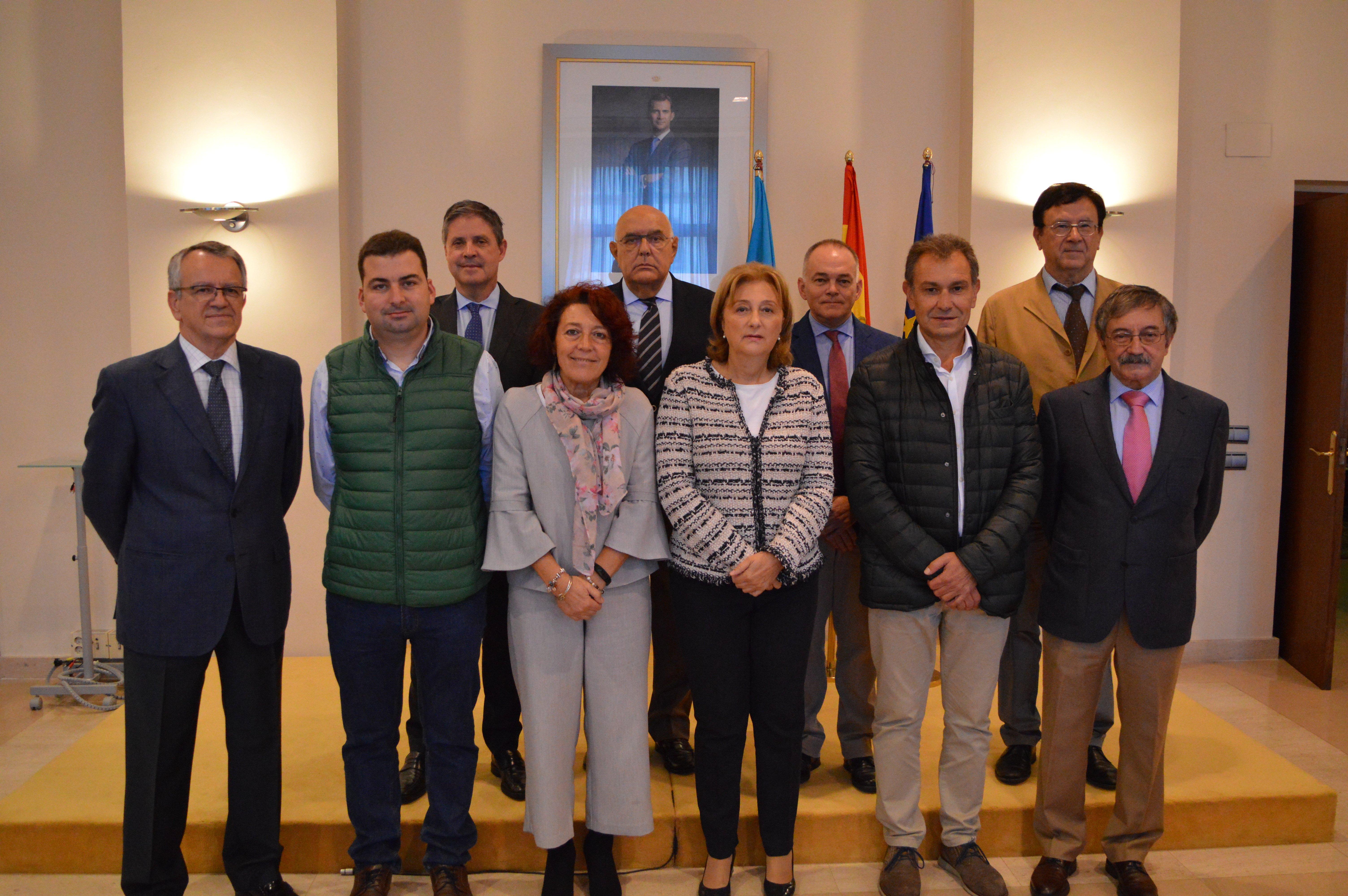 """Encuentro """"muy positivo"""" entre la Delegada del Gobierno y la presidenta de la FACC"""