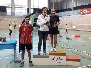 Dos Oros, Tres Platas y Cuatro Bronces para el Club Bádminton Vegadeo en el TTR de Gijón