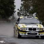 El Valdesano Jairo Suárez (BMWM3), 2º clasificado en el Rallysprint de Castropol