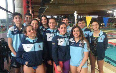 Buenos resultados de los nadadores naviegos en el VIII Trofeo Amagüestu