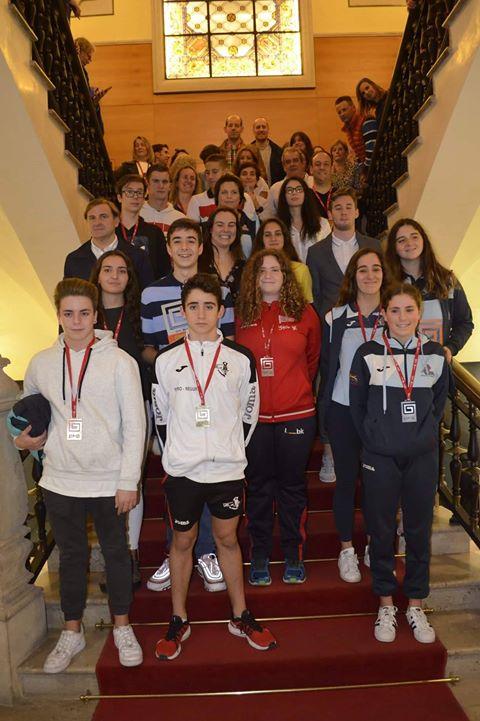 Cuatro nadador@s del Villa de Navia premiados en el I Circuito Asturiano de Aguas Abiertas