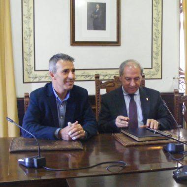 El Presidente de la Diputación de Lugo visita Ribadeo