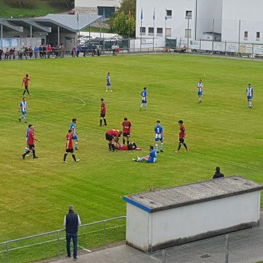 Empate sin goles en el derbi valdesano Treviense-Luarca (0-0)