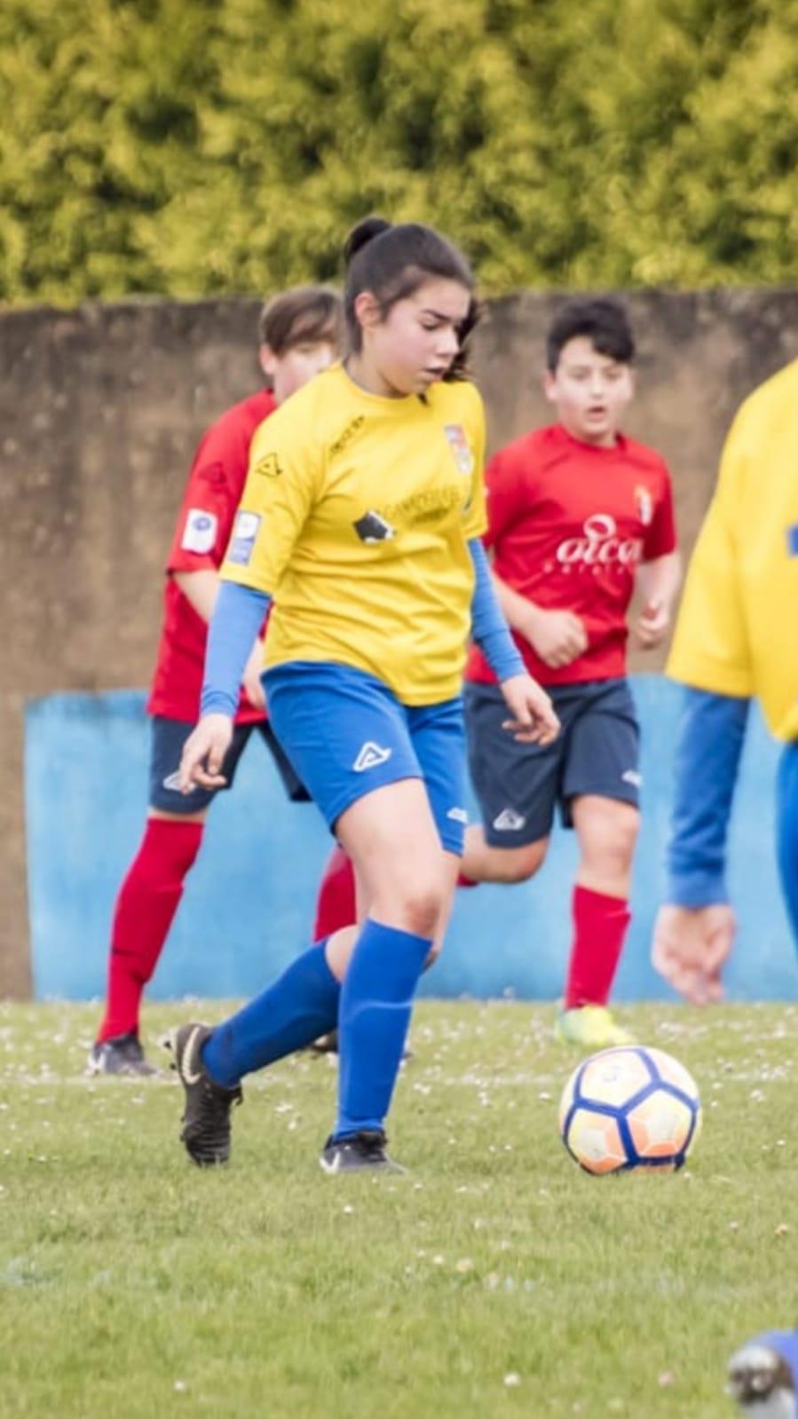 Erika García (UD Castros), Convocada por la Selección Asturiana Sub-15 Femenina