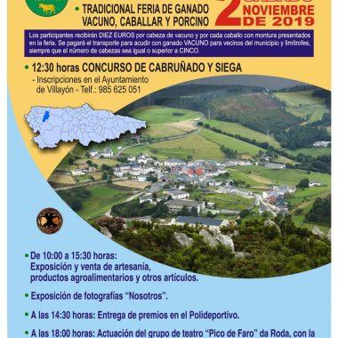 Feria Anual de Todos los Santos en Villayón, el 2 de noviembre