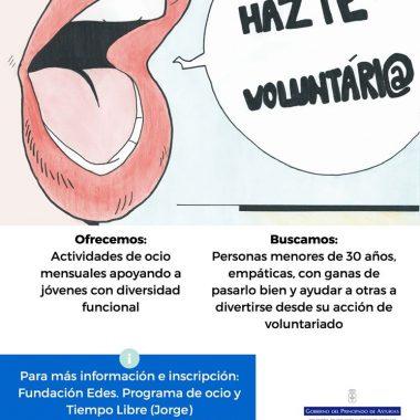 Hazte Voluntari@ de la Fundación EDES