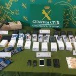 La Guardia Civil desmantela una Organización Criminal especializada en Robos en Tiendas de Telefonía Móvil