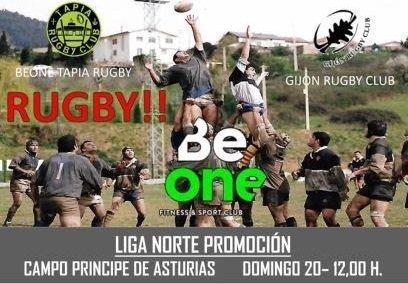 Primer partido de la Liga Norte de Promoción Senior de Rugby este domingo en Tapia
