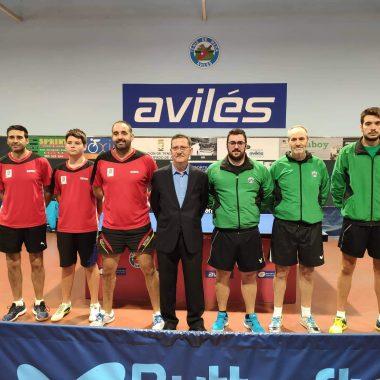 Triunfo del Luarca Tenis Mesa en Avilés en el primer partido de Liga de 2ª Nacional Masculina