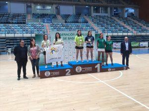 Ruth Veiguela (Club Bádminton Vegadeo), Doble Campeona del Máster Sub-19 Ciudad de Huelva