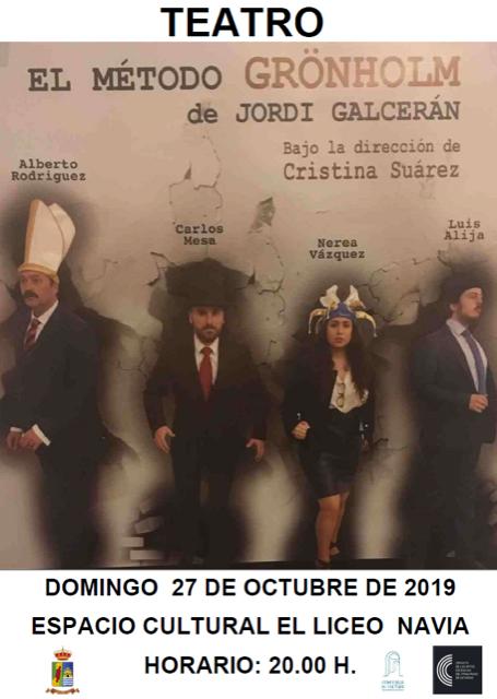 """Teatro en El Casino de Puerto de Vega y en """"El Liceo"""" de Navia durante el fin de semana"""