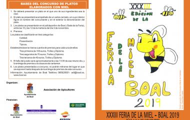 XXXIII Feria de la Miel de Boal, 2 y 3 de noviembre