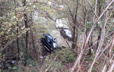 Un varón de 31 años Herido de Consideración en accidente de tráfico en Salas
