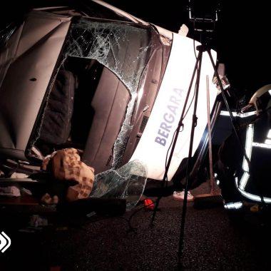 Heridas 5 personas en un accidente de tráfico en Llanes