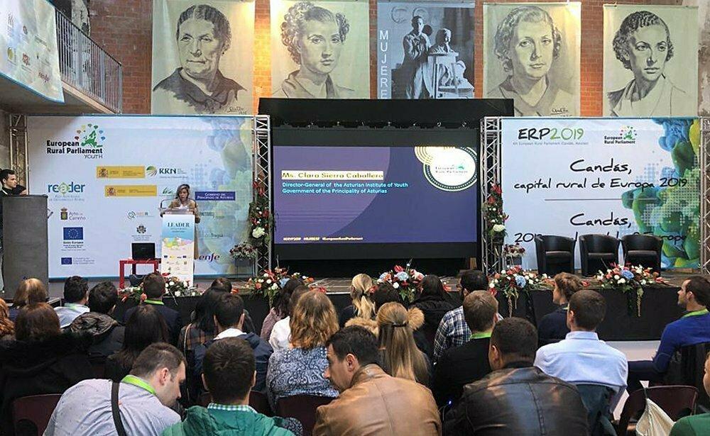 Inaugurado el IV Parlamento Europeo de la Juventud Rural que se celebra en Candás