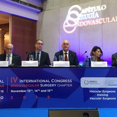 Clausura del IV Congreso Internacional de Cirugía Endovascular