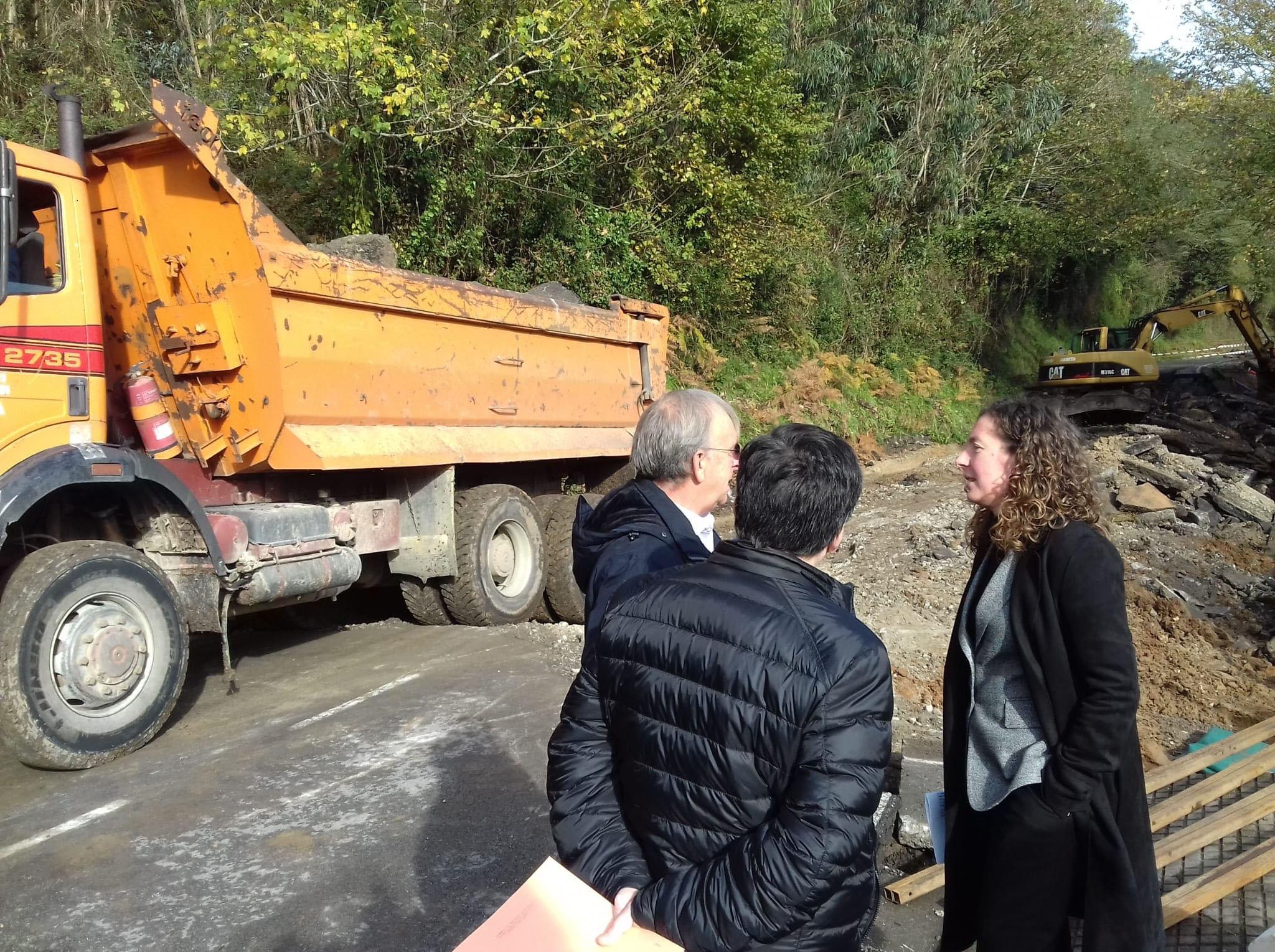El Principado estima en 1,2 millones el coste de la reparación de daños producidos por el último temporal en 14 carreteras