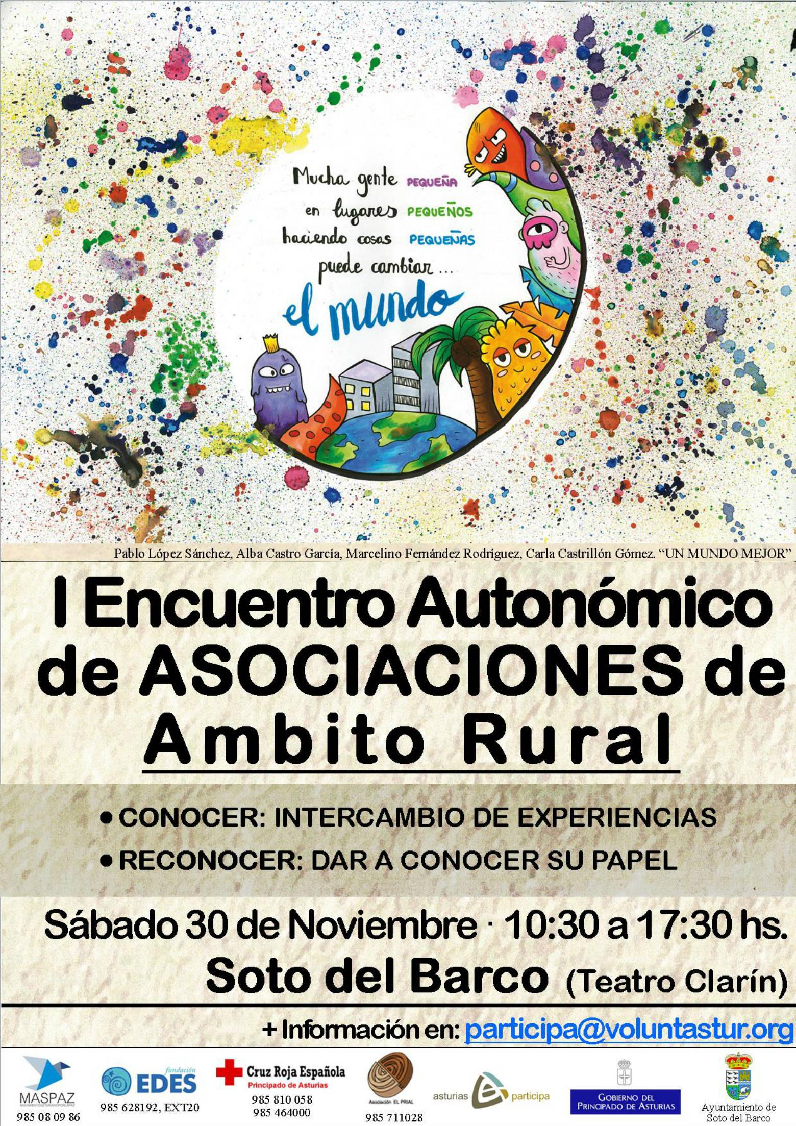 Primer encuentro autonómico de asociaciones de ámbito rural
